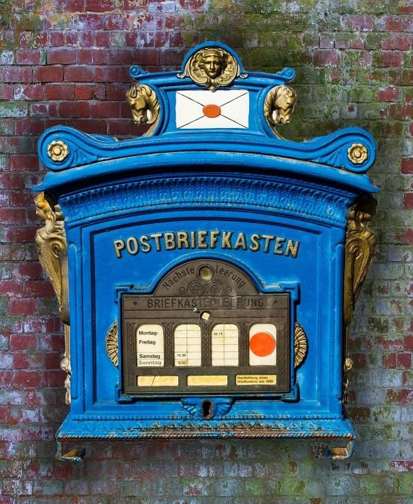 Wer einen neuen Briefkasten hat, sollte das andere wissen lassen